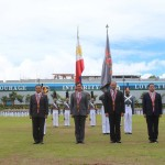 PMA Testimonial Parade and Review in honor of the four  Cavaliers