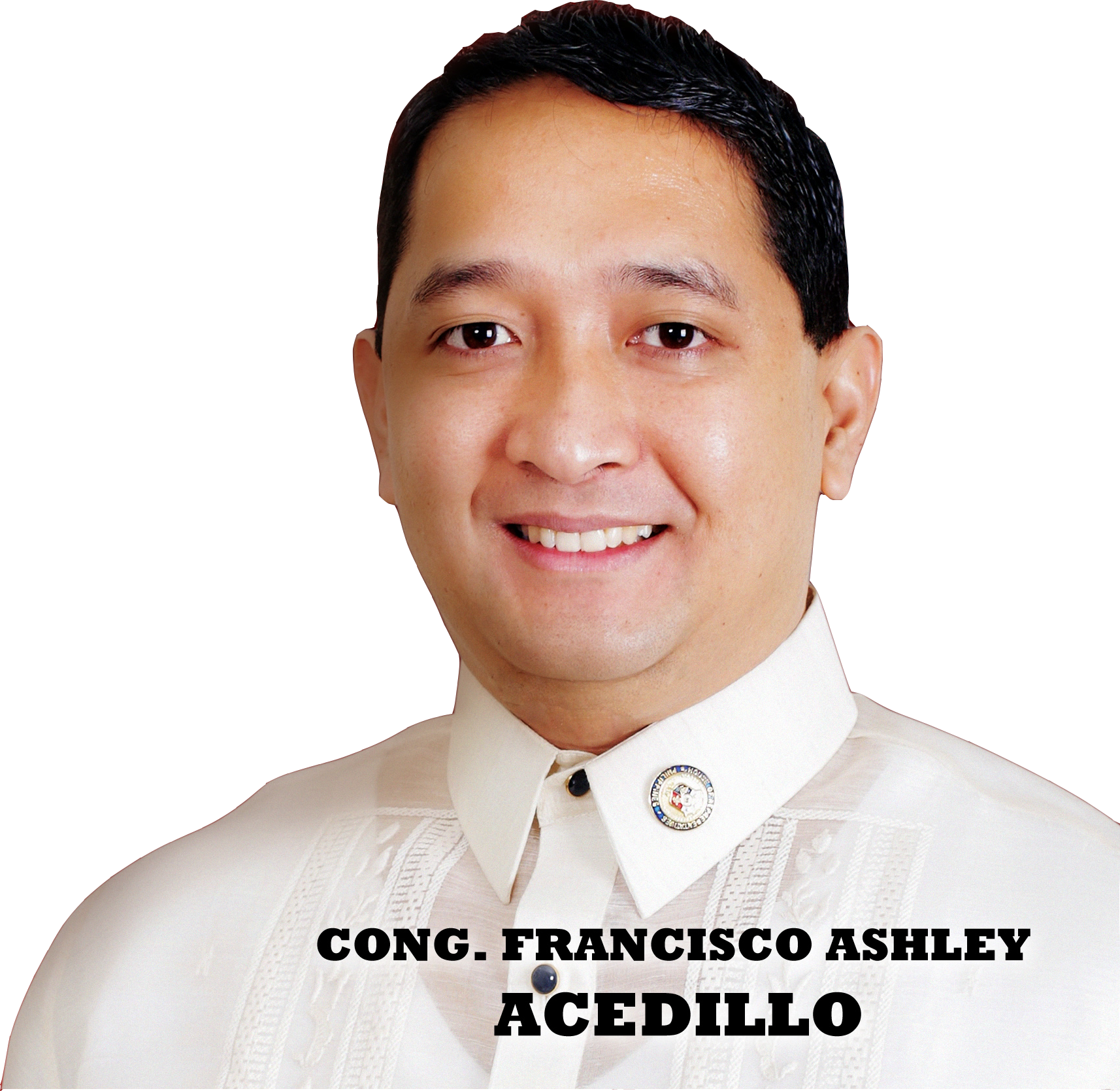 "Cong.Francisco Ashley ""Ace"" L. Acedillo"