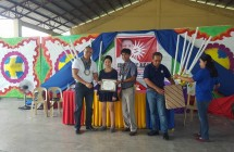 Inauguration of two-classroom building at V.F. Griño National High School