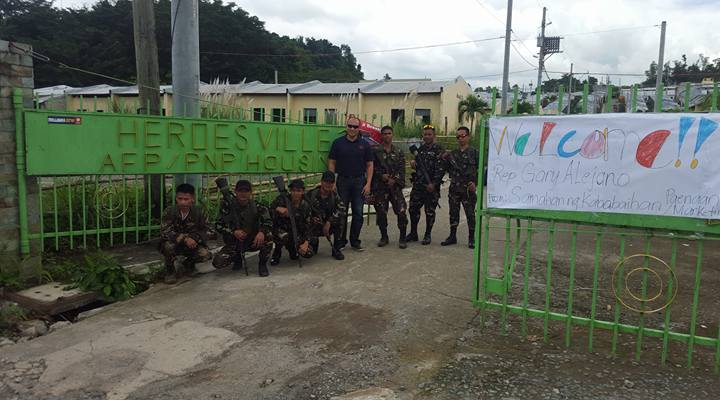 the housing projects of AFP/PNP in Baras, Rizal   Magdalo