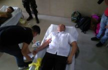 Magdalo Rep. Gary Alejano donated blood in support of Marawi City Heroes
