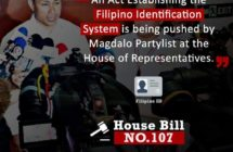 HB 107: An Act Establishing The Filipino Identification System